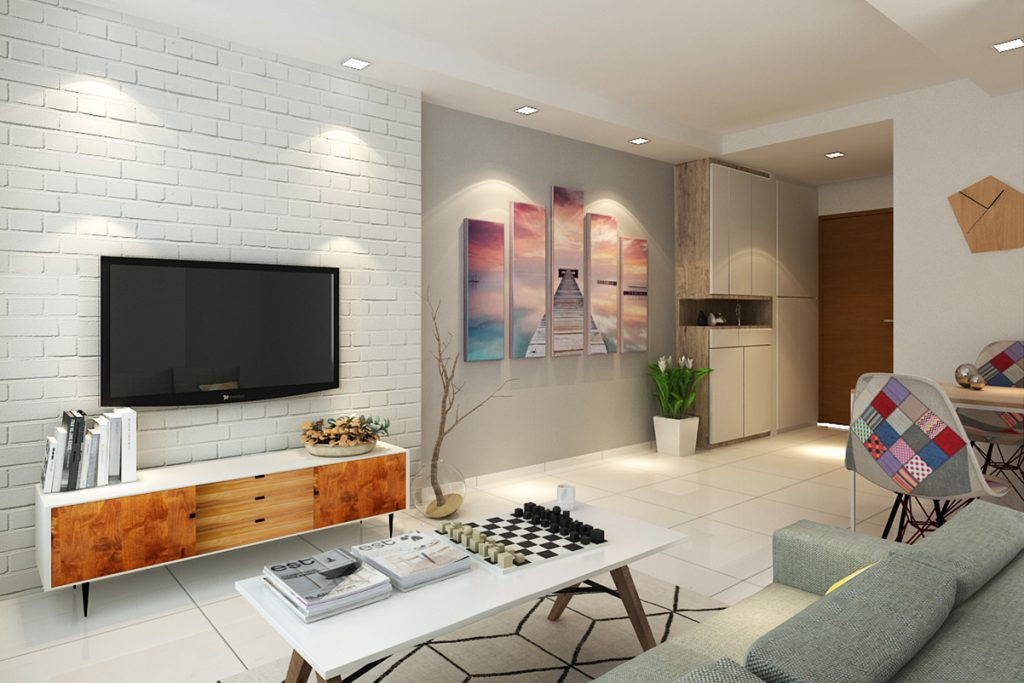Tv Wall Decor Small Space