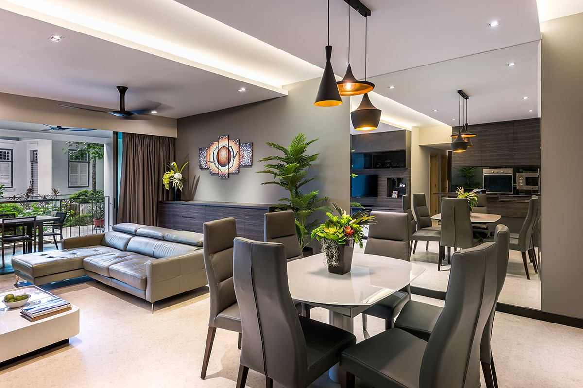 Registered interior design services company singapore for Residential interior designing services