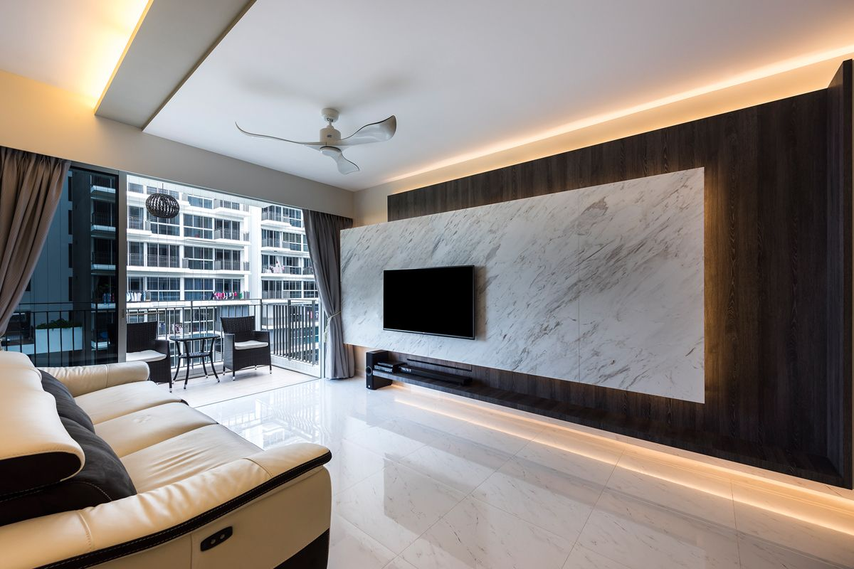 Interior design for the windsor condominium in upper for Interior decoration under gst