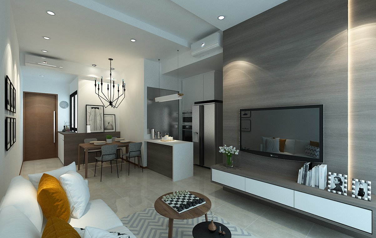 new condo renovation package singapore