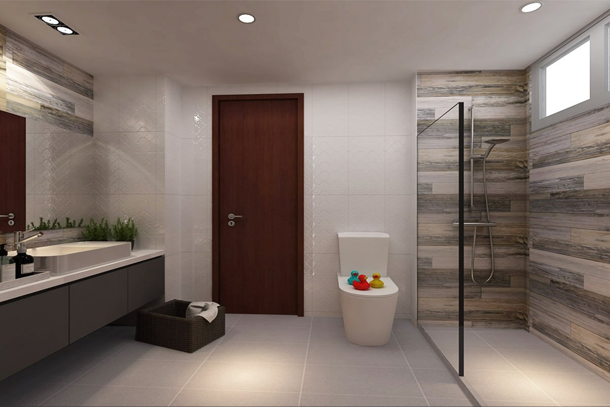 New hdb bto renovation package for New washroom designs