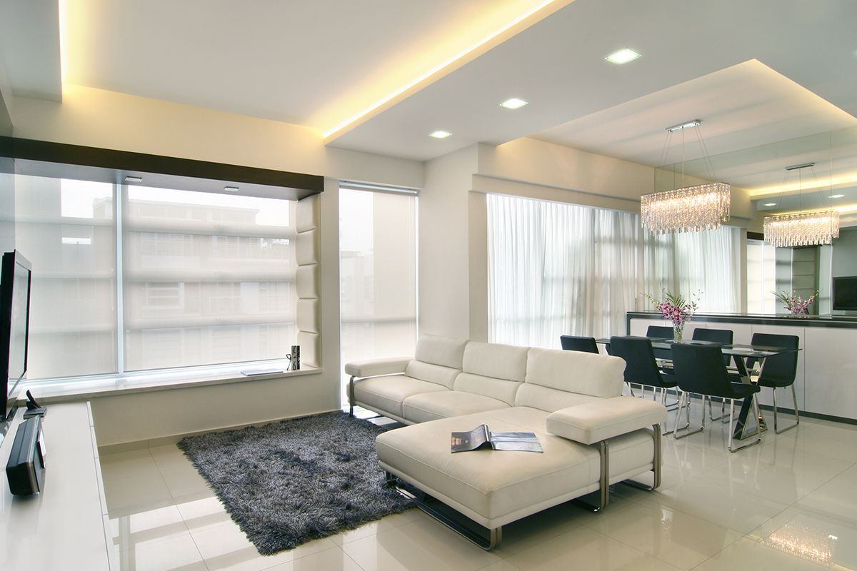 Interior design for the interlace in bukit merah by home for Home interior design singapore