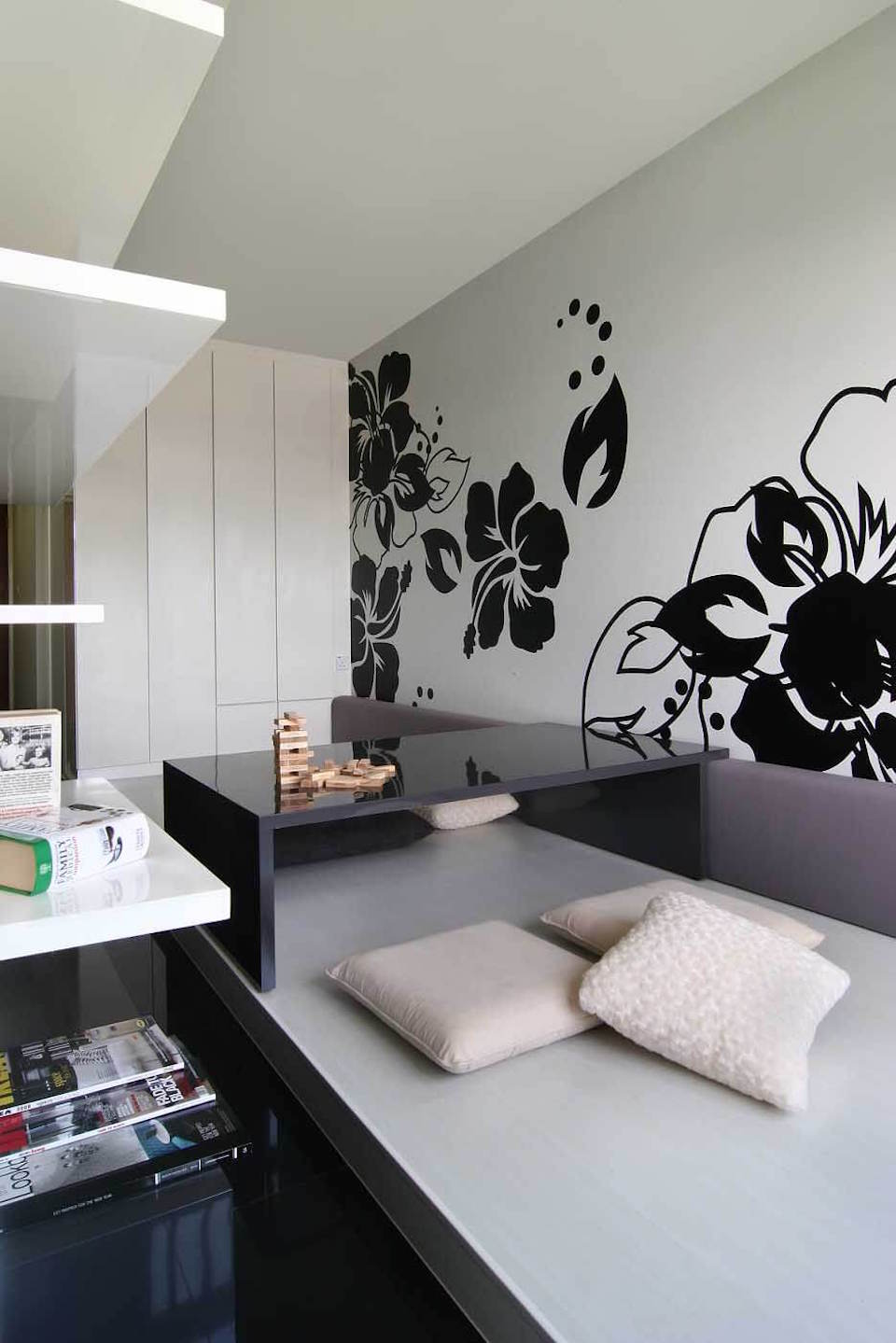 Singapore Hdb Room With Study Table: Interior Design For A HDB Flat In Tanglin Halt By Home