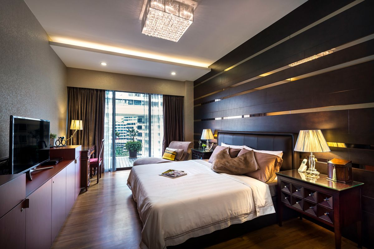 Decorating Ideas For Master Bedroom Singapore Condominium Interior Design At The Grand Duchess