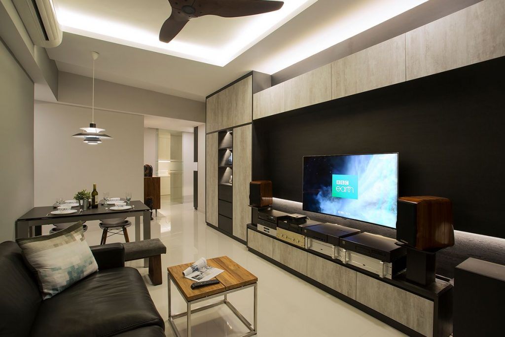 condo living room interior design interior design for leedon heights in singapore by home guide 19863