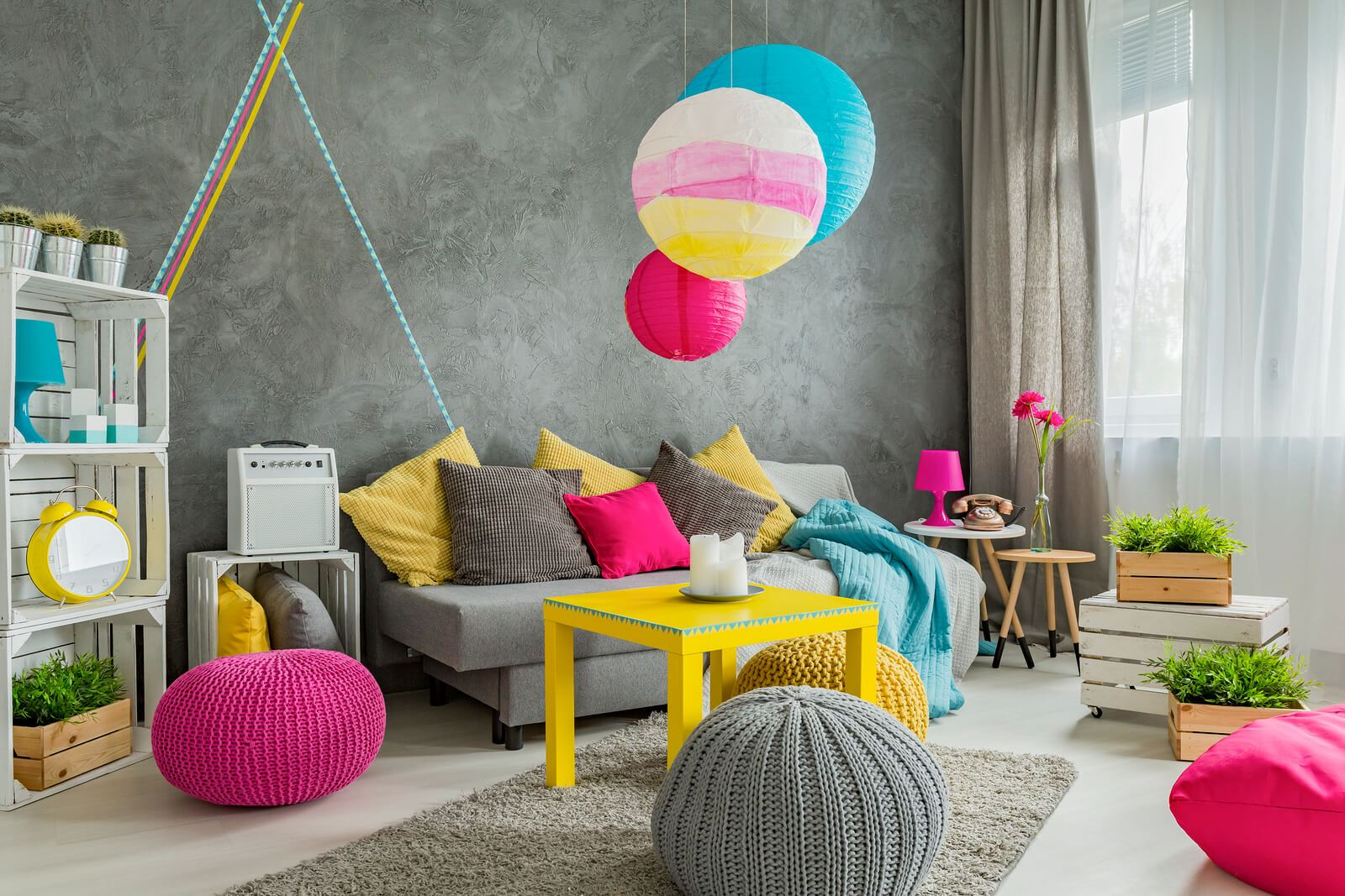 home decor colourful personality