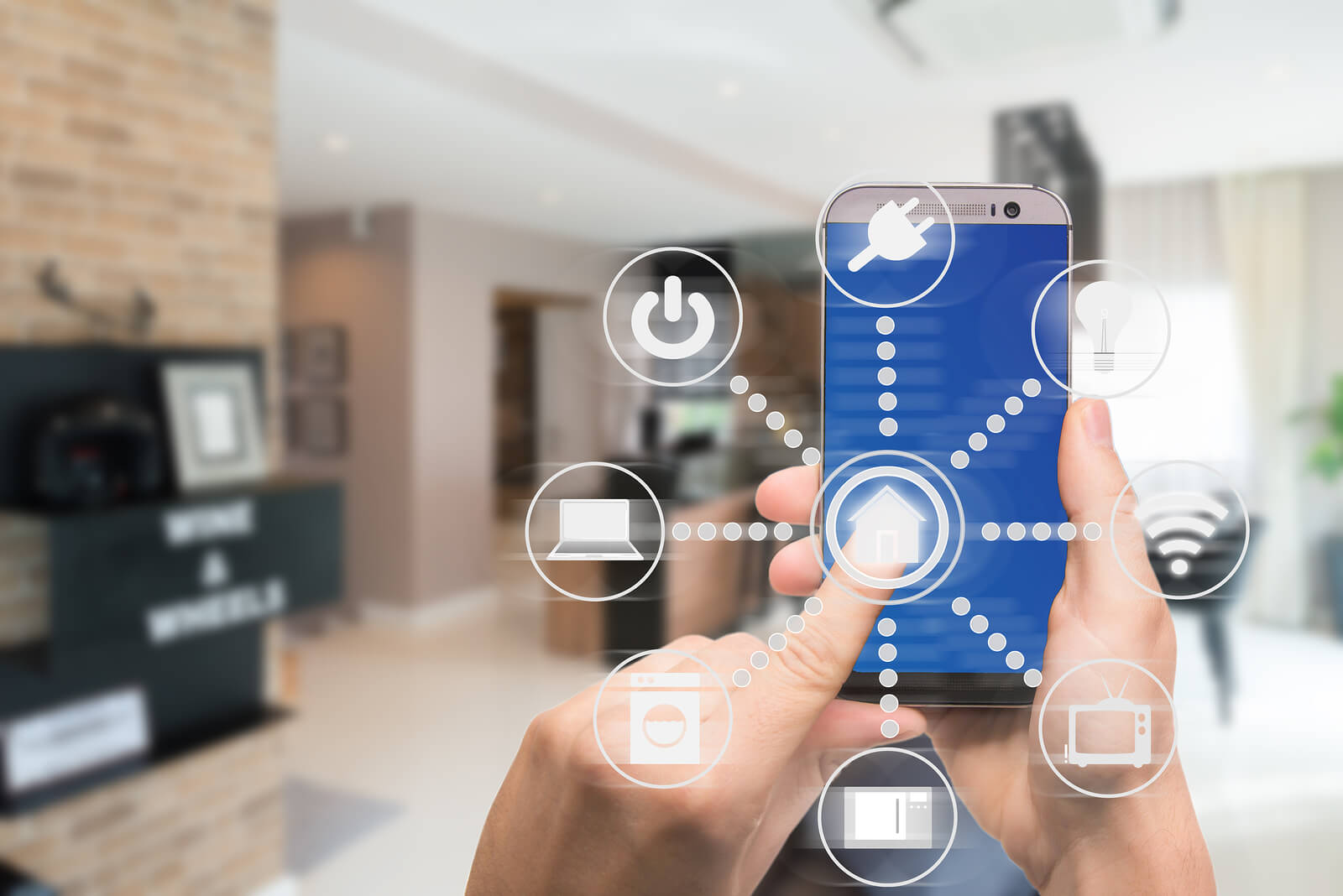 home interior design smart technology