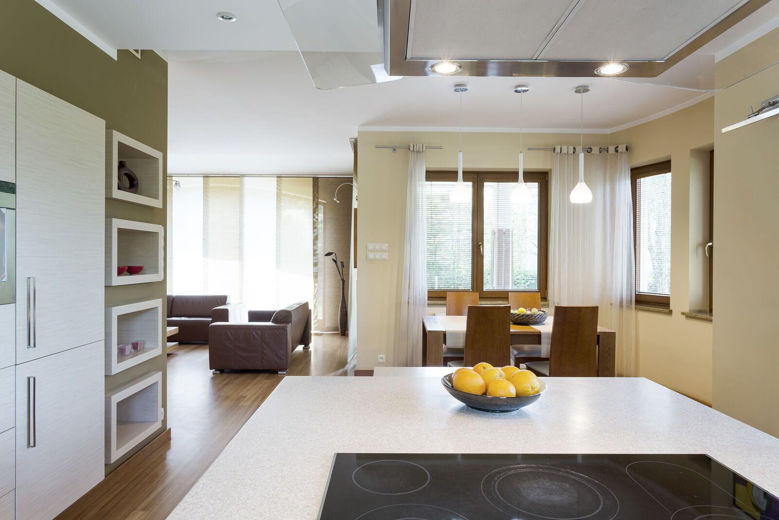home interior design spacious kitchen