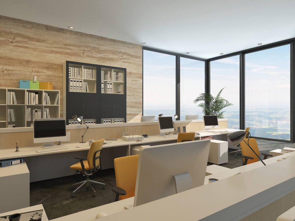The future of office interior design for Office design of the future