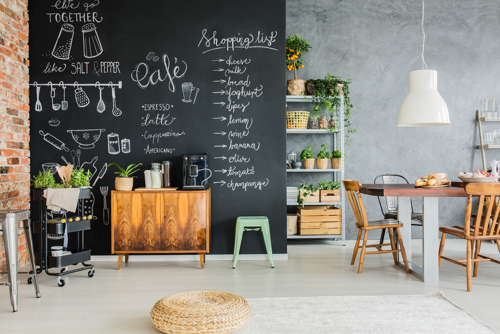 chalk walls home interior design trends