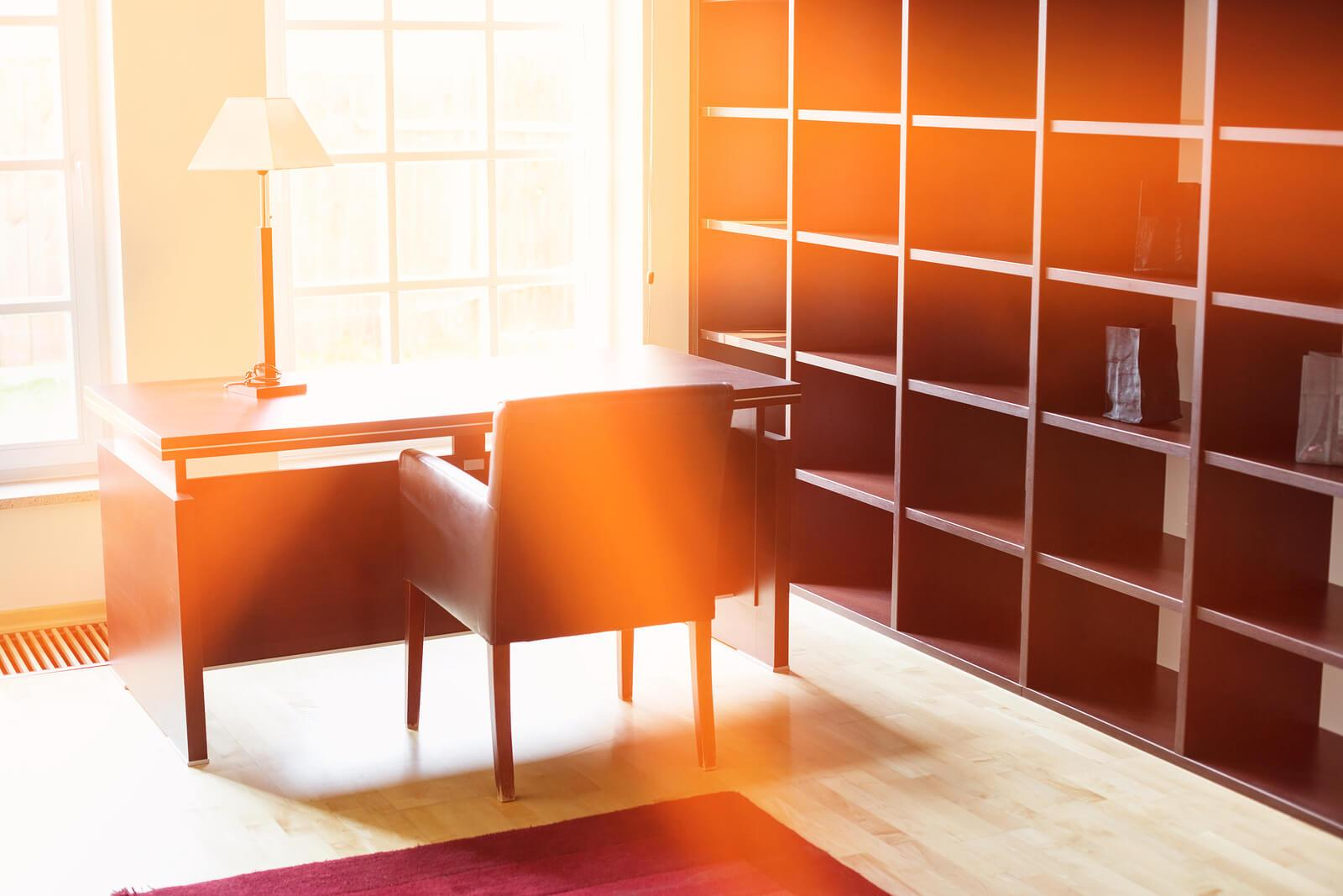 home office shelving interior design