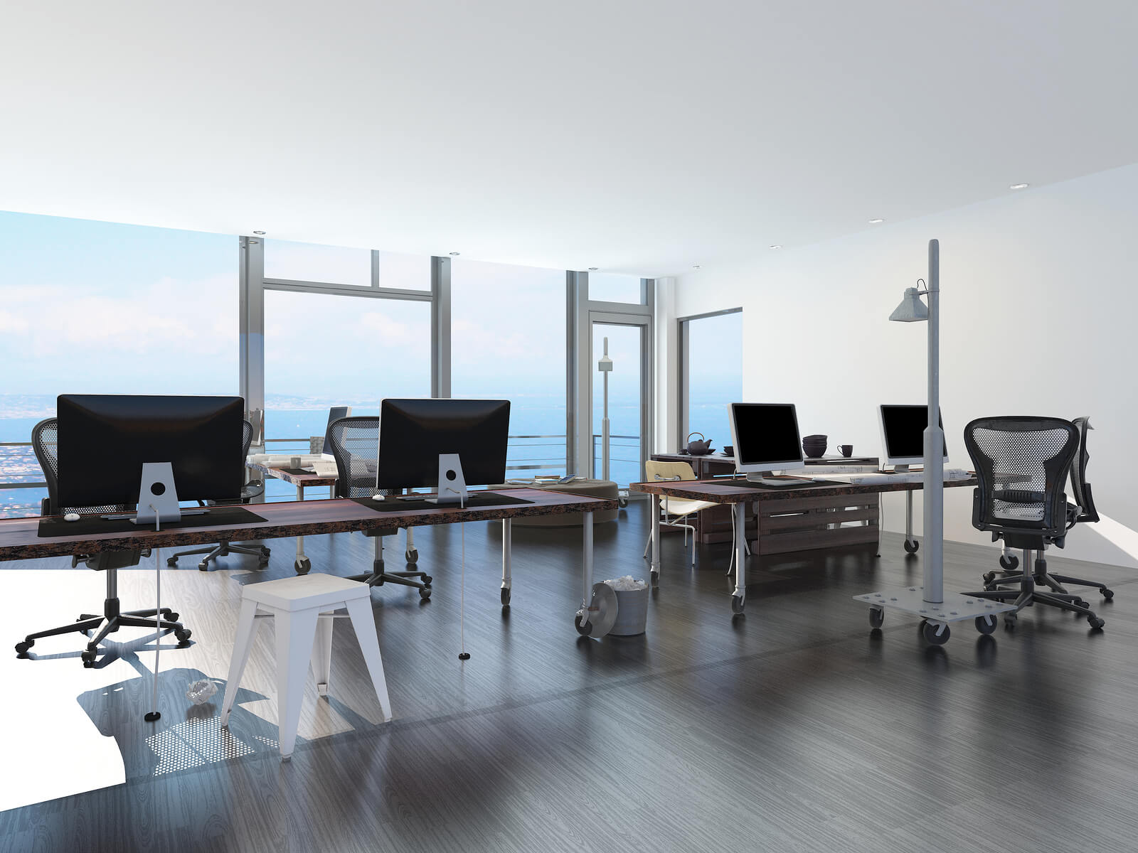 open space office interior design