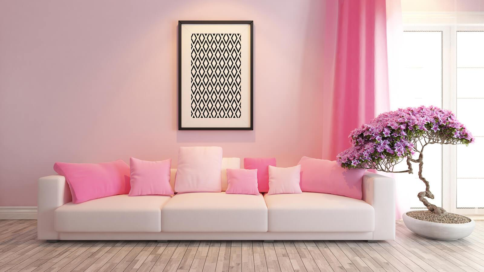 modern pink interior design trends