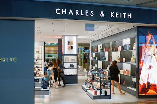 Retail Graphics and Branding - Charles and Keith
