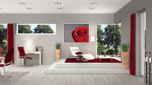 5 focal points to make your home interior a knock out for Focal point flooring