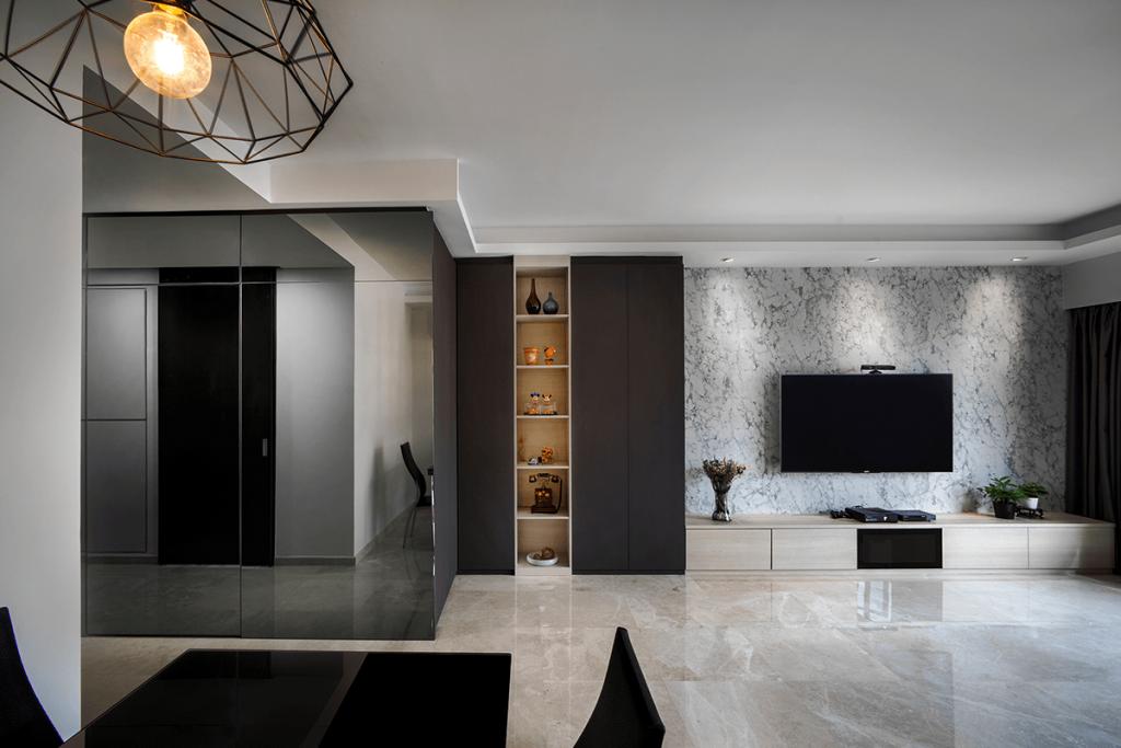 Home Interior Design In Singapore For Verandah Matilda