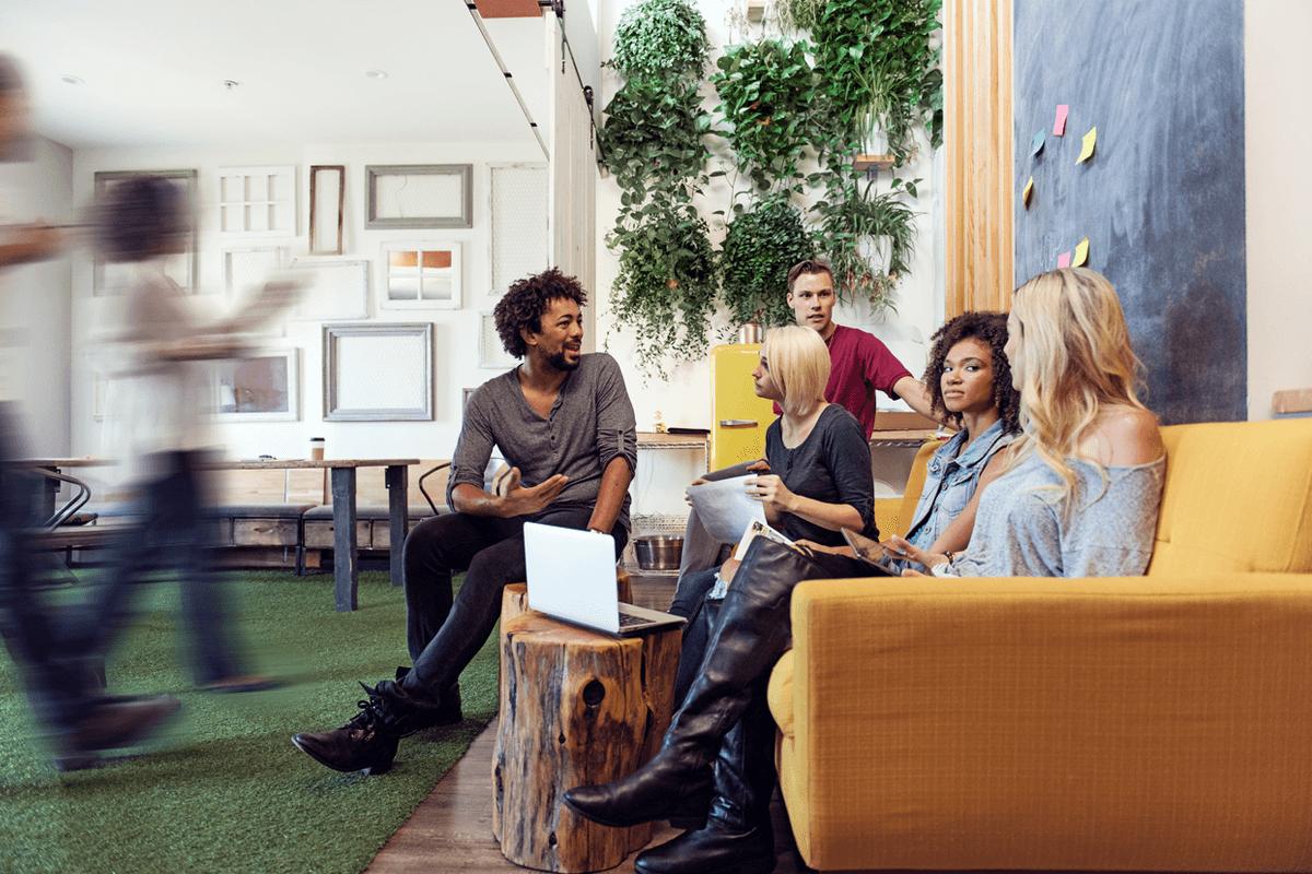 The Agile Office Interior Design