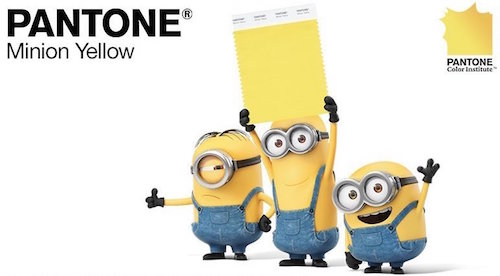 Home Interior Trending Colour - Minion Yellow