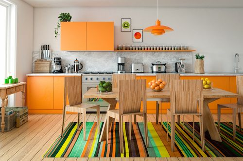 Home Interior Trending Colours - Technicolor