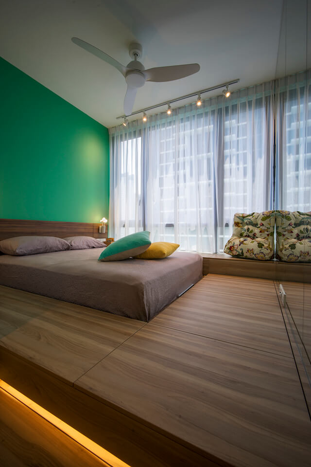 Home Interior Design For Trillinq Condominium In Singapore