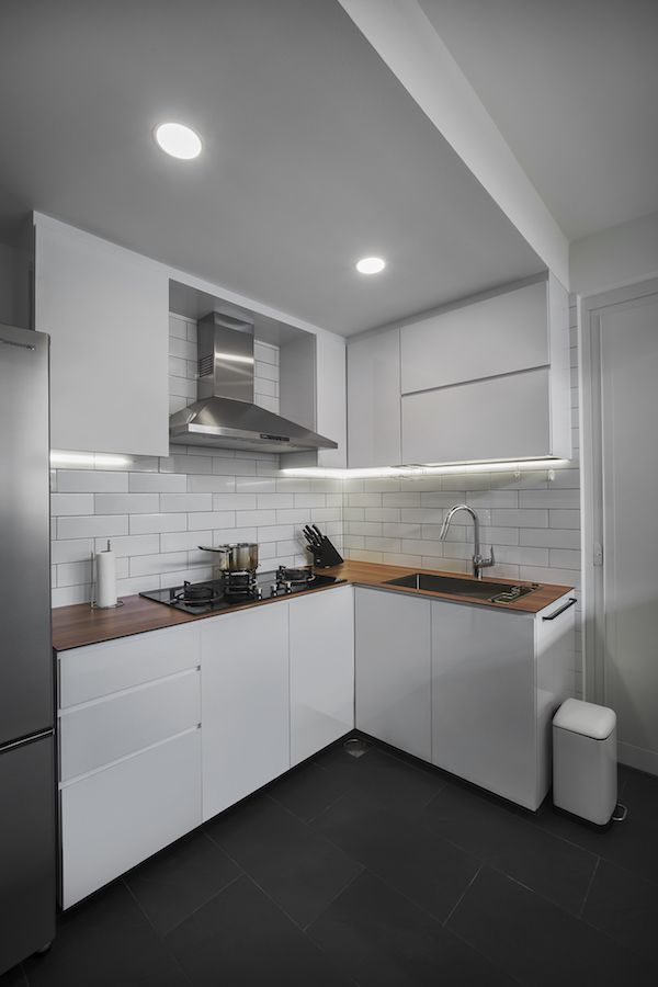 Kitchen Room Interior Design: Scandinavian Inspired Interior Design At Bedok Court Condo