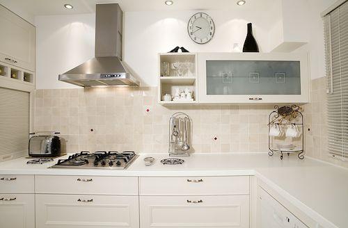 All-White Interior Design – White Kitchen