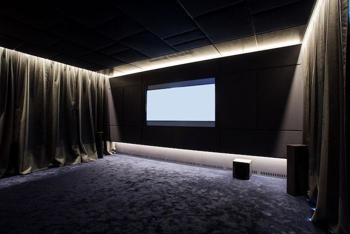 Choosing the right room and materials for a cinema room