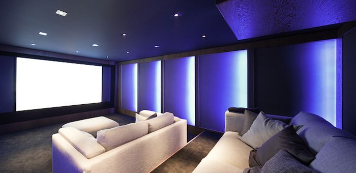 Choosing the right colours and light for your cinema room