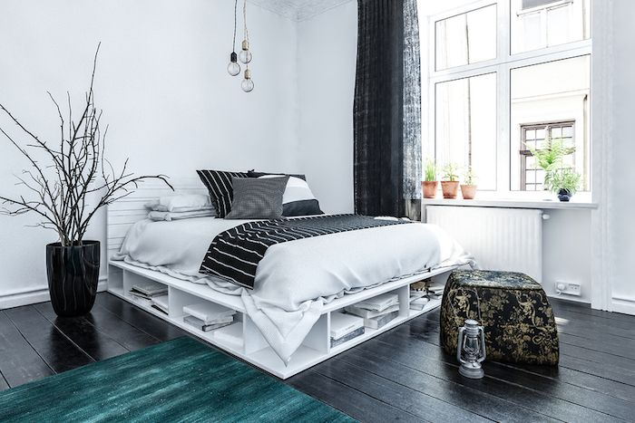 Effective Storage Solutions in a Small HDB Flat - Bed with Storage
