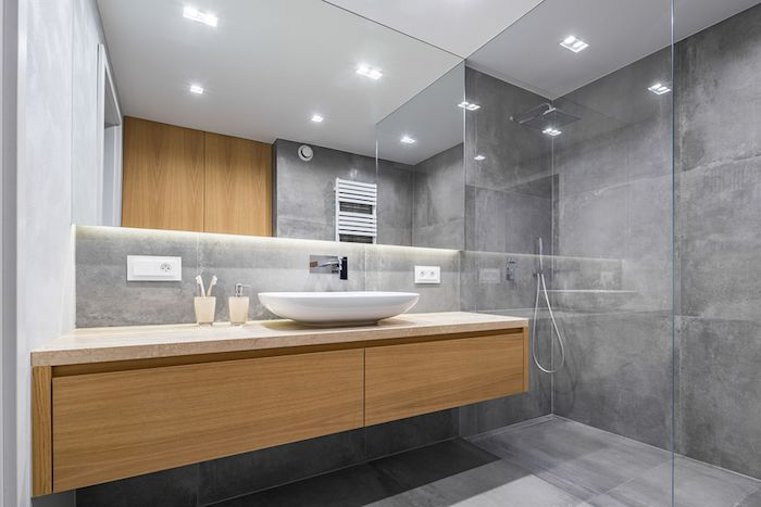 A Functional and Environment-Friendly Bathroom - Lighting choices
