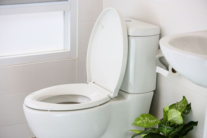 A Functional and Environment-Friendly Bathroom with high tech toilet bowl