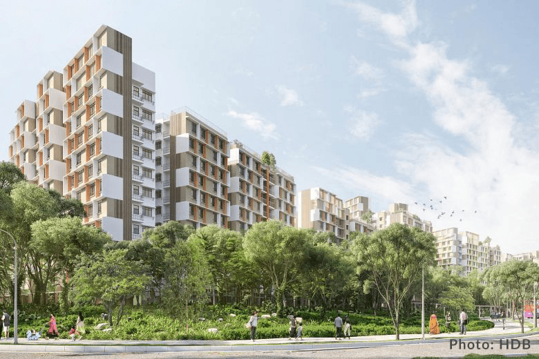 HDB Launches its First Residential Project in Tengah