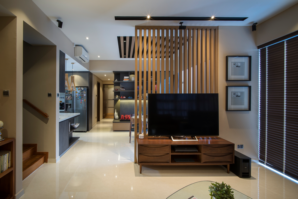Living Room Interior Design For The Singapore Apartment