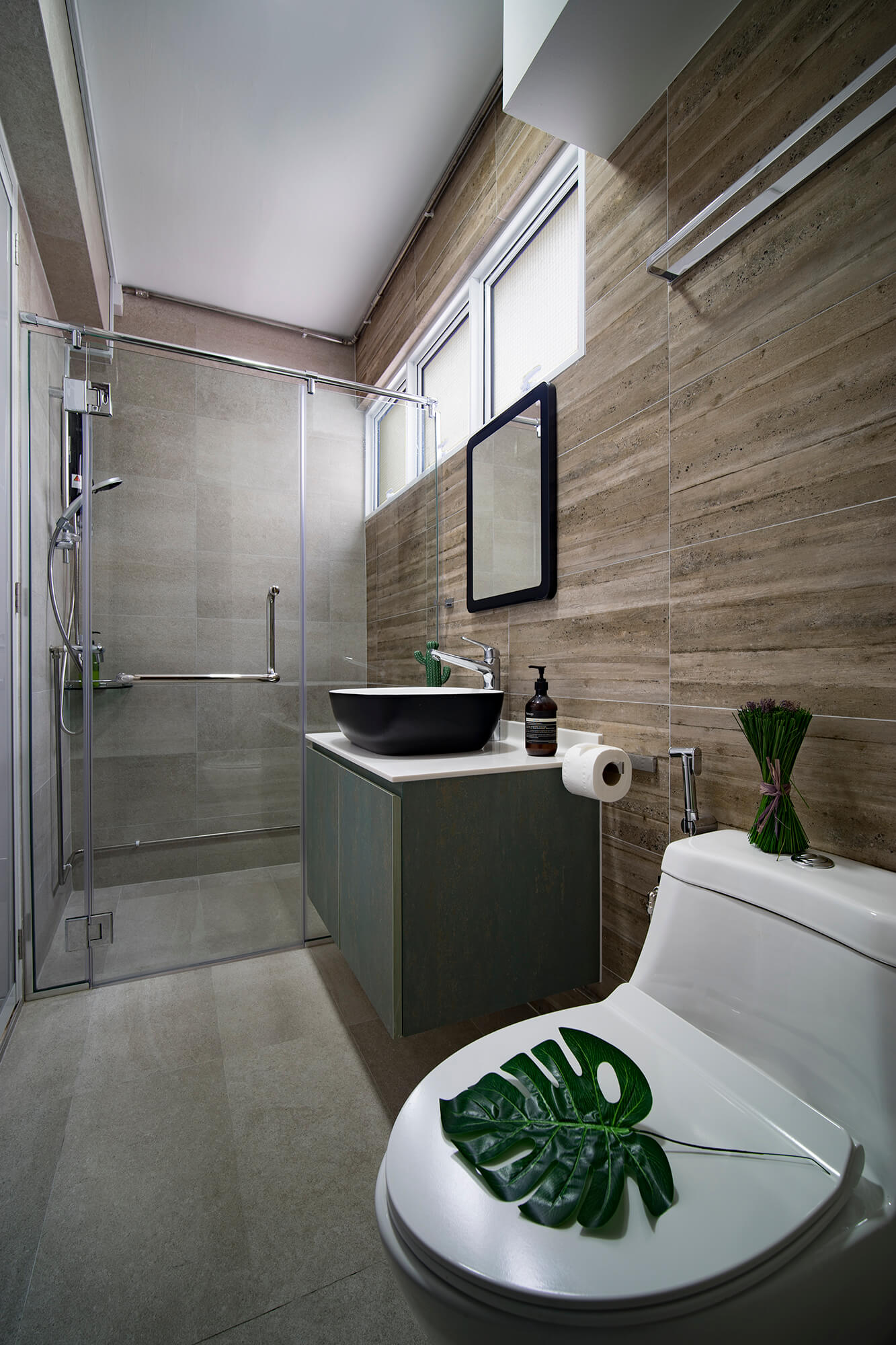 Interior Design For Hdb: Shunfu Road HDB Before & After Interior Design & Renovation