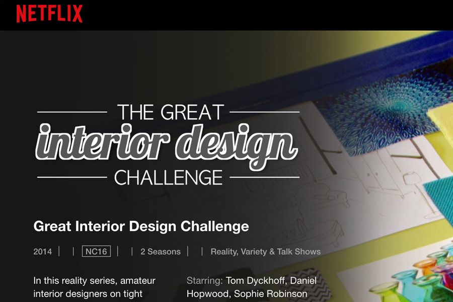 Get Home Interior Design Ideas in Singapore from Netflix - The Great Interior Design Challenge