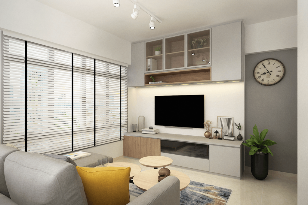 3 Room Hdb Bto Interior Design And Renovation Package