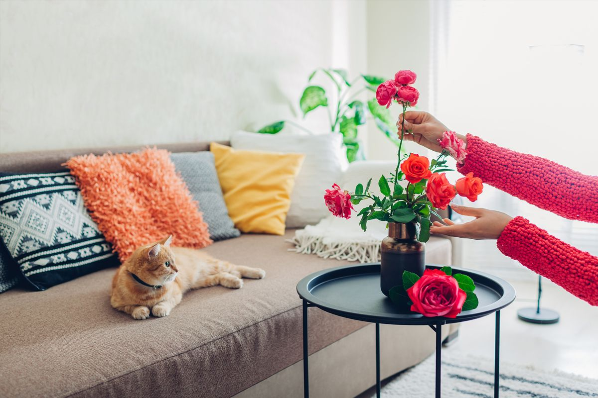 Home Interior Design Creative Ways To Decorate Your Singapore Home With Flowers